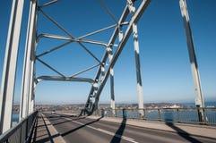 Queen alexandrines bridge in Denmark. Connects island of Moen to town of Kalvehave Stock Image