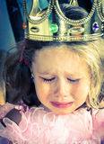 Queen also cry. Stock Images