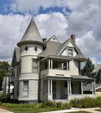 Queen Anne in Bloomington Royalty Free Stock Photos