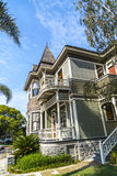 Queen Anne Style House Stock Image
