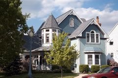 Queen Anne Victorian Home Royalty Free Stock Photography