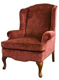 Queen Anne Wing Chair Royalty Free Stock Image
