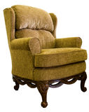 Queen Anne Wing Chair Royalty Free Stock Photography