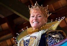Queen of the Arizona Renaissance Festival. Royalty Free Stock Photos