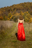 Queen of autumn. Royalty Free Stock Photo