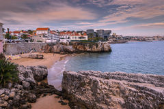 Queen of the beach cascais Stock Image