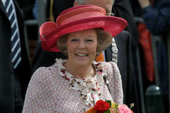 Queen Beatrix of the Netherlands. During official public visit to the city of The Hague, Netherlands Stock Photo