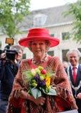 Queen Beatrix of the Netherlands. At the opening of Den Haag Sculptuur 2012 in The Hague Stock Image