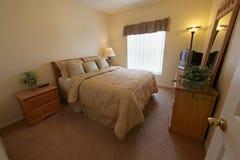 Queen Bedroom Stock Photography