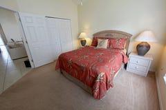 Queen Bedroom Royalty Free Stock Photo