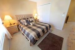 Queen Bedroom Royalty Free Stock Image
