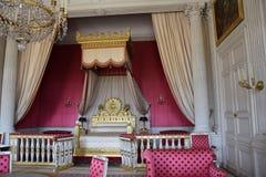 Queen bedroom Stock Photos