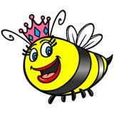 Queen Bee Cartoon Royalty Free Stock Photography