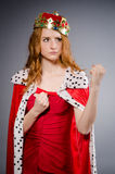 Queen businesswoman Royalty Free Stock Photo