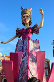 The Queen - Carnival of Nice 2016 Stock Photography
