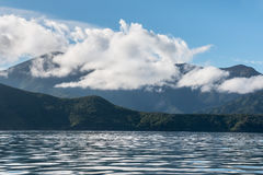 Queen Charlotte Sound in Marlborough Sounds, New Zealand Stock Image