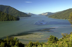 Queen Charlotte Sound - New Zealand Stock Photos
