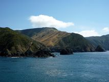 Queen Charlotte Sound, New Zealand Royalty Free Stock Photos