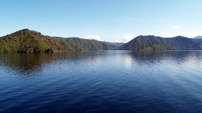 Queen Charlotte Sound, New Zealand Stock Image