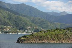 Queen Charlotte Sound Royalty Free Stock Image