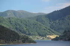Queen Charlotte Sound Royalty Free Stock Photos