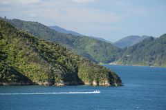 Queen Charlotte Sound Stock Photos