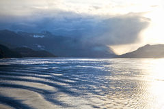 Queen Charlotte Strait, British Columbia, Canada Royalty Free Stock Image