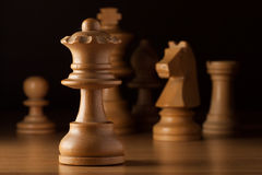 Queen chess Royalty Free Stock Photos