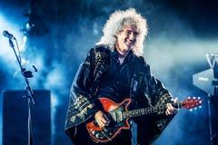 Queen concert Stock Image
