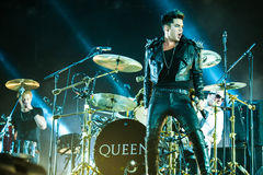 Queen concert Royalty Free Stock Photos
