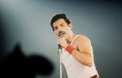 Queen in concert Stock Images