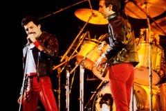 Queen in concert stock photography