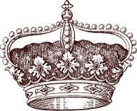 Queen crown Stock Image