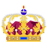 Queen crown Stock Photography