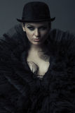 Queen of Darkness Royalty Free Stock Images