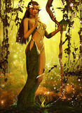 The queen Dryad Royalty Free Stock Photo