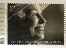 Queen Elizabeth royalty free stock photo