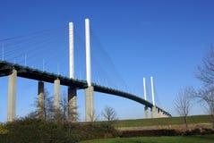 Queen Elizabeth bridge 2 Stock Images