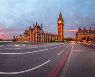 Queen Elizabeth Clock Tower and Westminster Palace Stock Photography