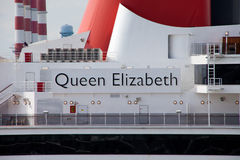 Queen Elizabeth Cruise Ship Royalty Free Stock Photos