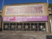 Queen Elizabeth Hall in London Stock Photography
