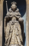 Queen Elizabeth I Statue in London Royalty Free Stock Image