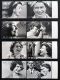 Queen Elizabeth II. Collection stamps printed in Great Britain shows Queen Elizabeth II Stock Photo