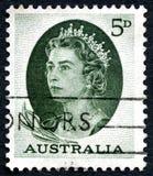 Queen Elizabeth II Australian Postage Stamp Royalty Free Stock Photography