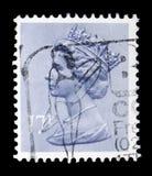 Queen Elizabeth II - Decimal Machin serie, circa 1983. MOSCOW, RUSSIA - FEBRUARY 14, 2019: A stamp printed in United Kingdom shows Queen Elizabeth II - Decimal stock images