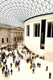Queen Elizabeth II Great Court of the of the British Museum Lond Stock Photo