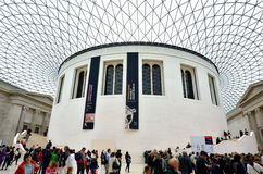 Queen Elizabeth II Great Court of the of the British Museum Lond Stock Photography