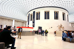 Queen Elizabeth II Great Court of the of the British Museum Lond Royalty Free Stock Photography