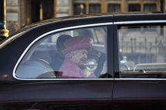 Queen Elizabeth II marks Commonwealth Day Stock Image