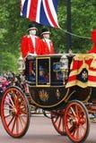 Queen Elizabeth II On The Royal Coach
